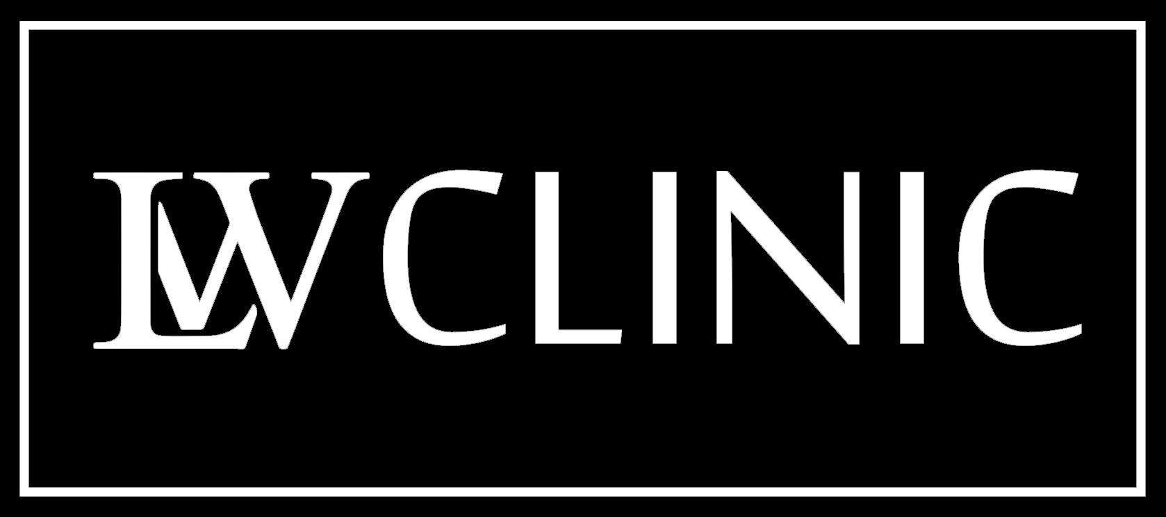 LW Clinic Preston - Logo White