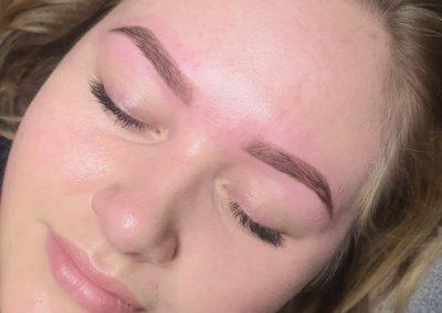 Eyebrows Tattoo Healed
